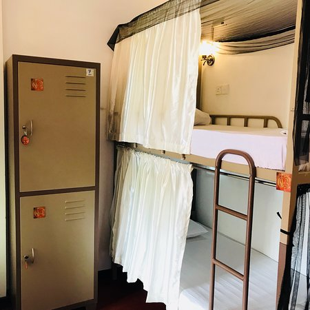 Stay in Private Bed in a Dorm @ Space Garden Hostel