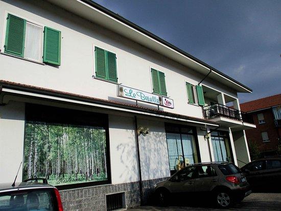 Santa Vittoria d'Alba, Italy: Ristorante Le betulle