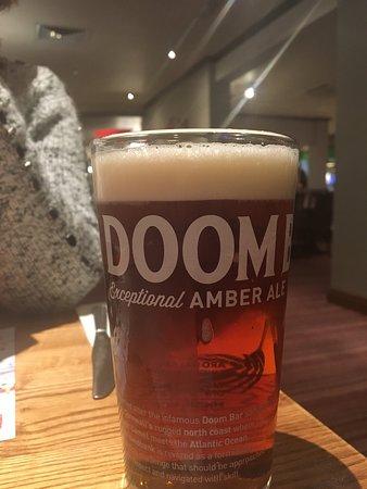 Brewers Fayre Derwent Crossing: Doombar, poured 'pint'?