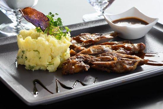 Экс-ан-Прованс, Франция: Notre tapilla de porc et sa sauce barbecue maison