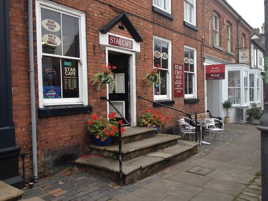 Star Cafe: Exterior of Star Café, Eccleshall - September 2018