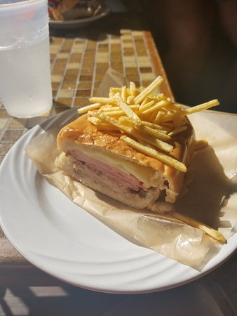 Little Havana Food and Walking Tour in Miami: The America made Cuban sandwich!