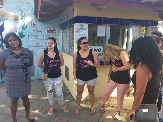 Little Havana Food and Walking Tour in Miami: The gals and mystery lady!