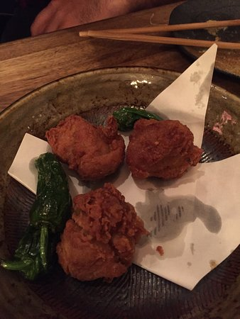 Chicken karage - the batter was really nice