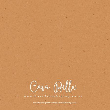 Casa Bella Montecasino: Menu