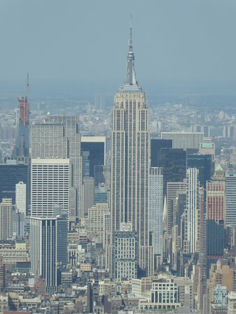 What A View From High Above! (Empire State Building)
