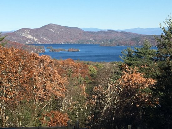 Hague, NY: View  from camp