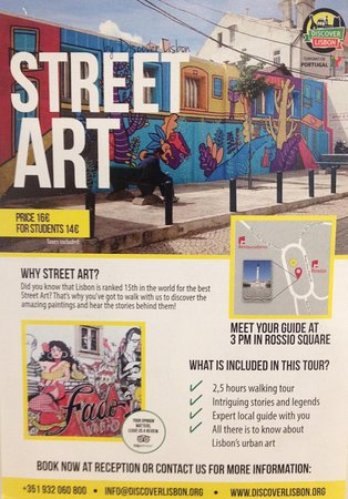 Лиссабон, Португалия: Did you know that Lisbon is ranked 15th in the world for the best street art?
