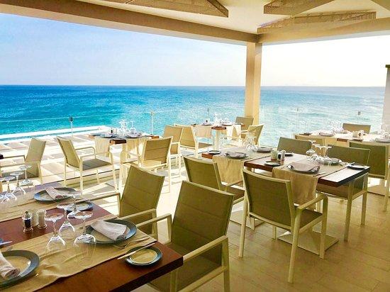 Atlantico Lounge Lanzarote: Restaurant area top floor