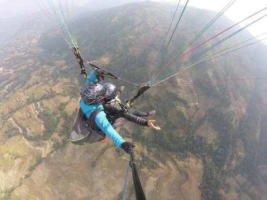 Nagarkot Everest View Paragliding Photo