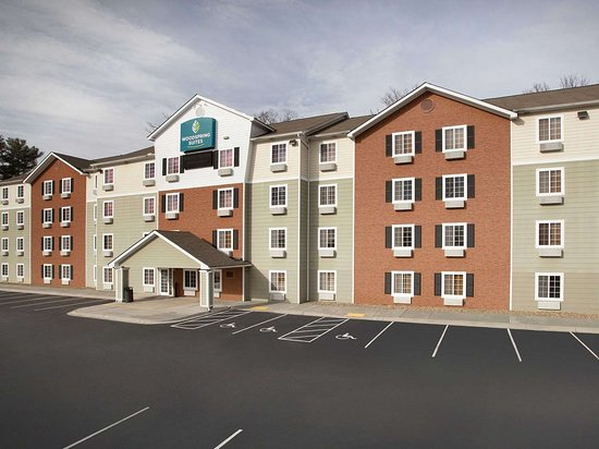 WoodSpring Suites Asheville Extended Stay Hotel Exterior  x