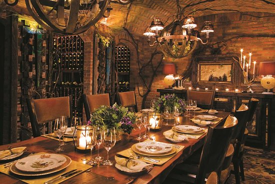 Lake Placid Lodge: Dining_wine cellar