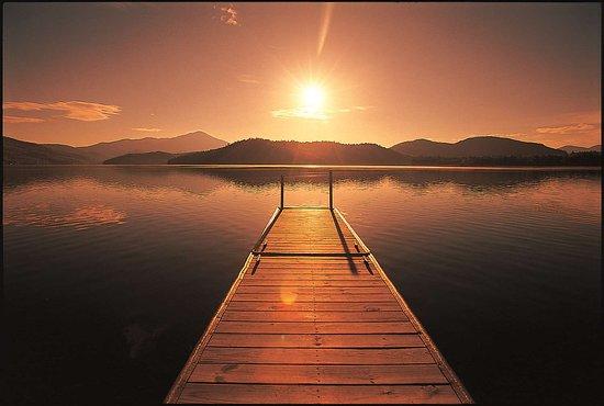 Lake Placid Lodge: Lake view