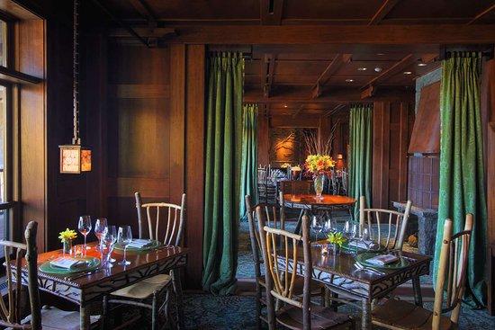 Lake Placid Lodge: Dining_Artisans3