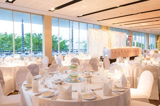 Shangri-La Hotel, The Marina, Cairns: Trinity Rooms (Events Centre) with Banquet style set-up