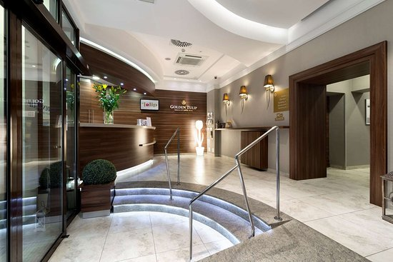 Golden Tulip Krakow City Center Hotel: Lobby view