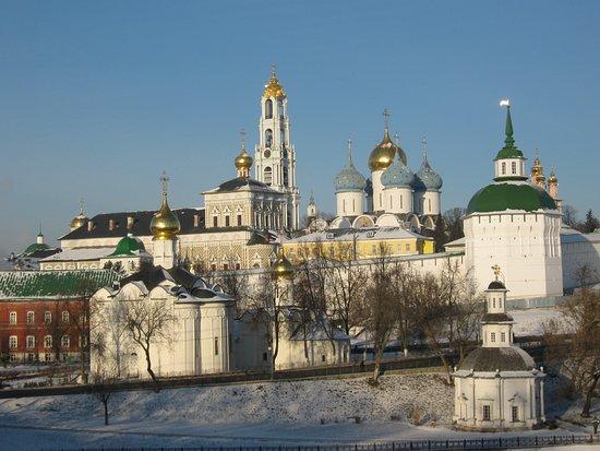 The Holy Trinity-St. Sergius Lavra-billede