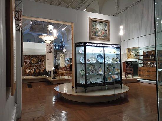 Brighton Museum and Art Gallery:  main museum area
