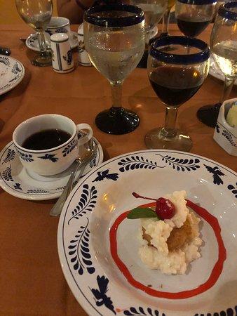 Dessert at Los Agaves.