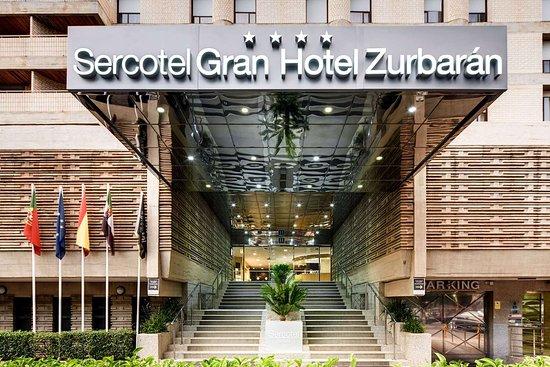 Sercotel Gran Hotel Zurbaran Badajoz: Hotel exterior