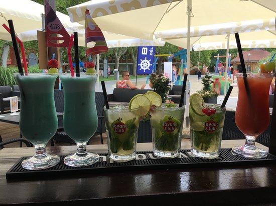 Terasz: Cocktails