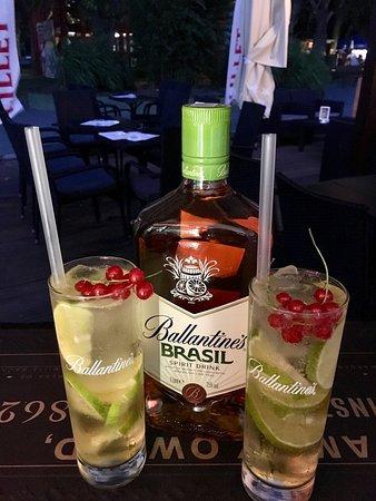 Terasz: Long drinks