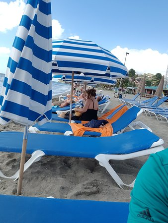 Sundrenched at Vibes Beach Bar, Frigate Bay Beach,  St Kitts