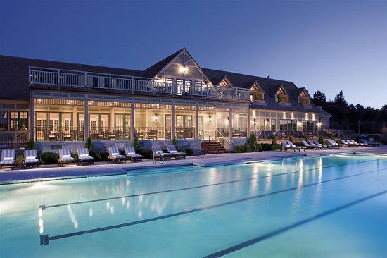 Bar Harbor Club Pool Night Shot