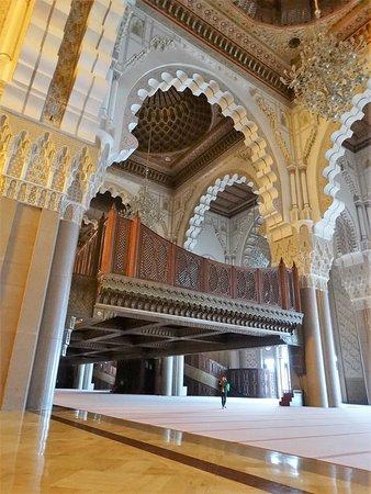 Мечеть Хассана II: Mezquita impresionante