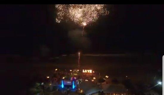 Tesoro Ixtapa: esta imagen que les proporciono, es una captura de video de un drone de nuestro evento, no se visualiza de la mejor forma pero realmente!! fue grandioso