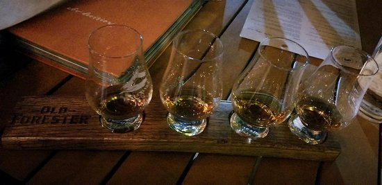 Feed Company Eatery & Bourbon Lounge: Old Forester Bourbon Flight