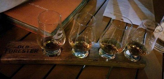 Old Forester Bourbon Flight