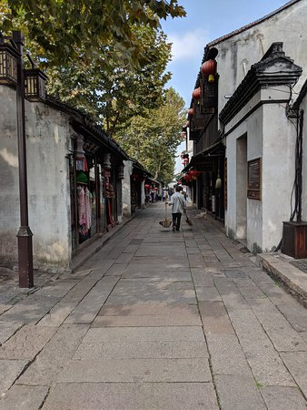 Huzhou Nanxun Old Town: the streets in the town