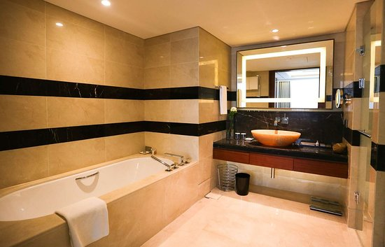 Lotte Hotel Ulsan: Suite bathroom