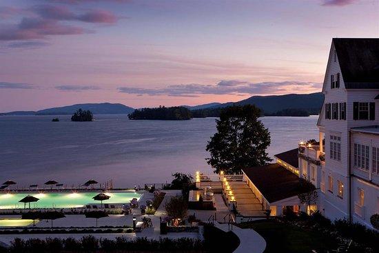 The Sagamore Resort: Pool view