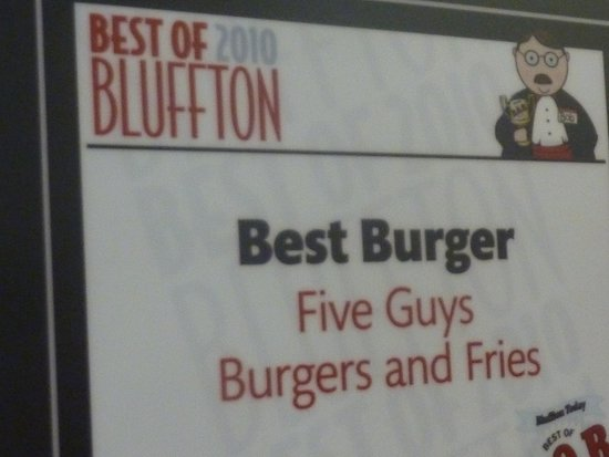 Hilton Head, SC: Five Guys
