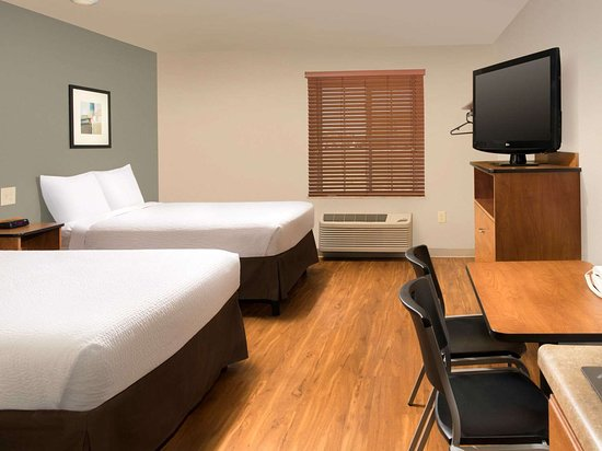 WoodSpring Suites Odessa Extended Stay Hotel Final Two Bed Studio  x