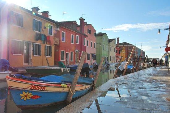 Бурано, Италия: Precioso para callejear, con mucho encanto.