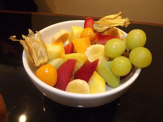 Cafe con fe: Ensalada de frutas, frutas de la estacion