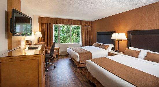 Coast Hillcrest Hotel: Comfort Room with 2 Queen Beds