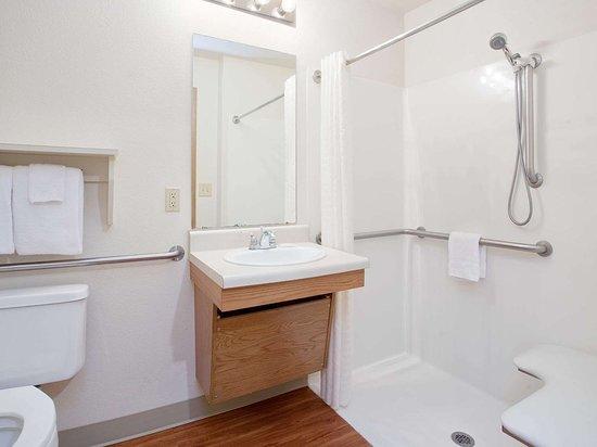 Generic WoodSpring Suites ADA Roll In Bathroom x