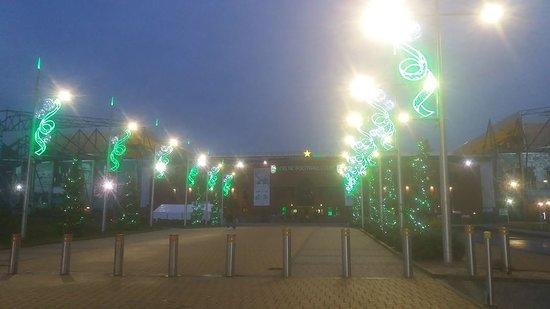Celtic park stadium Outside