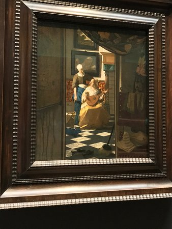 """""""The Love Letter"""" by Vermeer"""