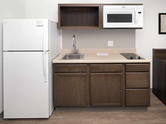 WoodSpring Suites Nashua Merrimack Extended Stay Hotel Kitchen x
