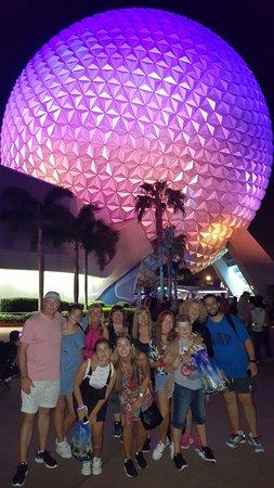 Орландо, Флорида: EPCOT, Orlando, EEUU. Febrero 2018