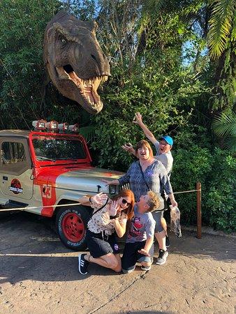 Орландо, Флорида: Jurassic Park, Island Of Adventure, Orlando, EEUU. Febrero 2018