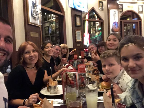 Орландо, Флорида: Hard Rock Café, Orlando, EEUU. Febrero 2018