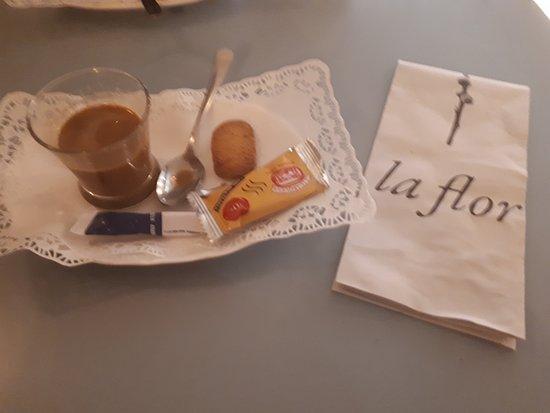 Coffee with liquor