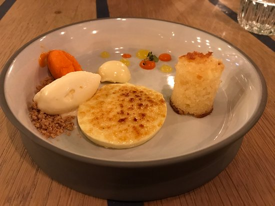 Restaurant Floreyn: Dessert plate