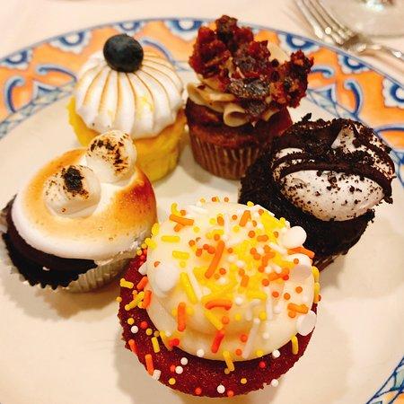 Assortment of Mini Cupcakes